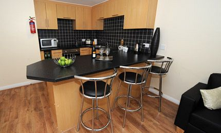 Fountainbridge Student Accommodation Edinburgh Kitchen