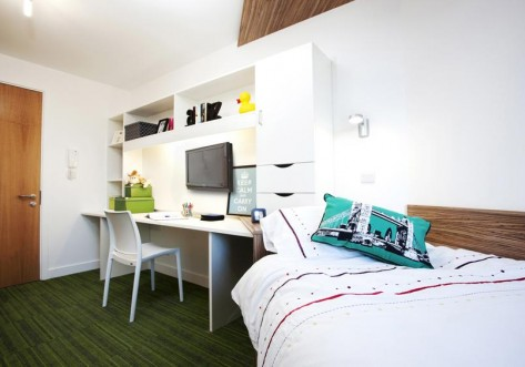 The Curve Student Accommodation London Studio