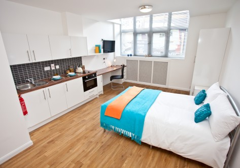 Mansion Waterside Student Accommodation London Bed