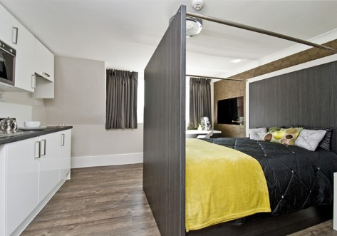 Mansion Bloomsbury Student Accommodation London Bedroom