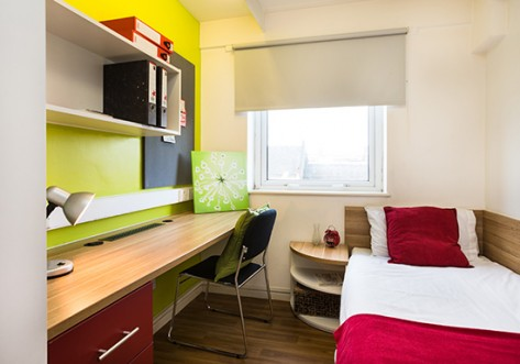 The Arcade Student Accommodation London Bedroom