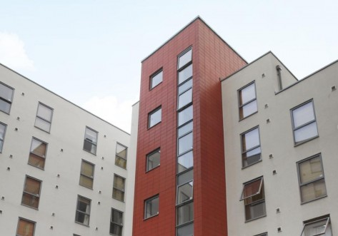 Unite Students accommodation at Canto Court in London