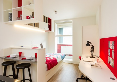 Spring Mews Students Accommodation London Bedroom