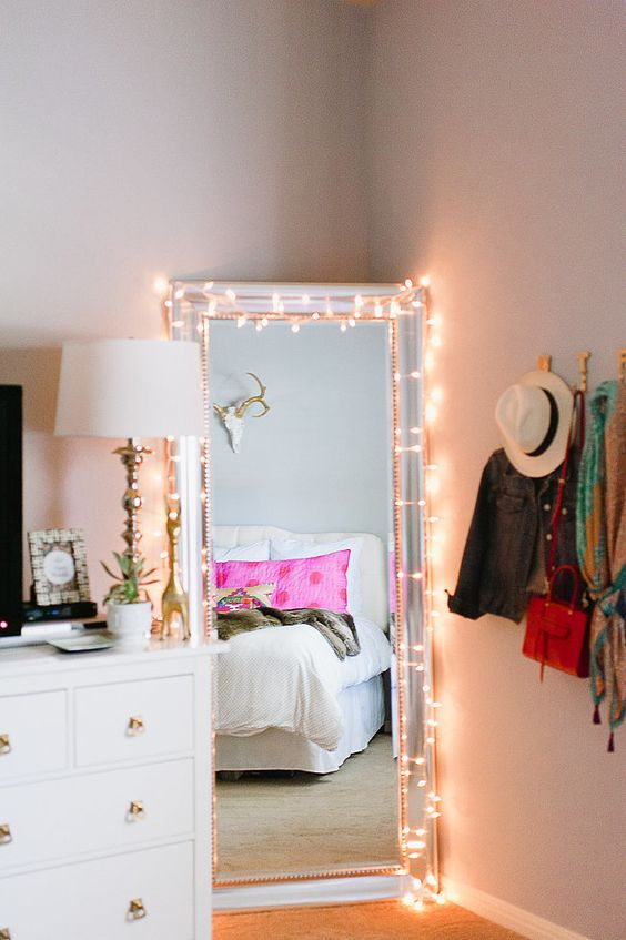lights are the quintessential product for decorating your student room and are great for putting the finishing touch to a fully furnished room
