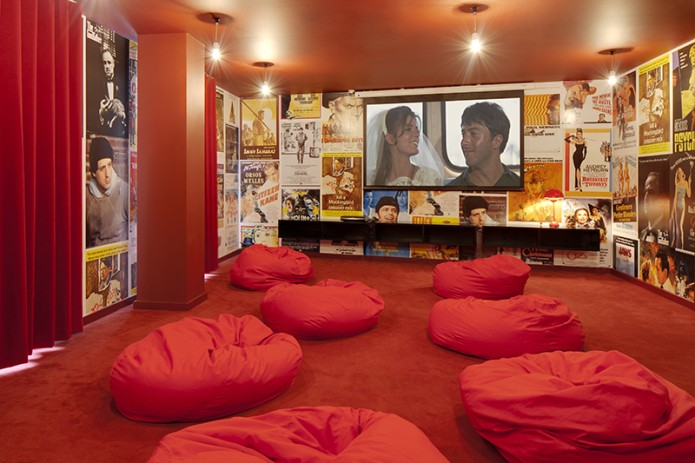 Cinema Room at iQ Shoreditch from iQ Student Accommodation. Mystudenthalls.com